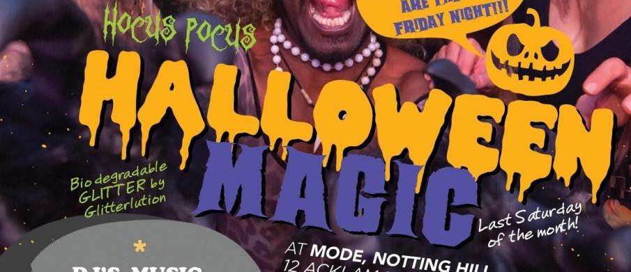 Hocus Pocus Halloween Flyer A4